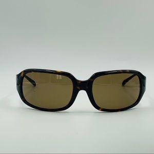 Vintage Kenneth Cole Tortoise Oval Sunglasses